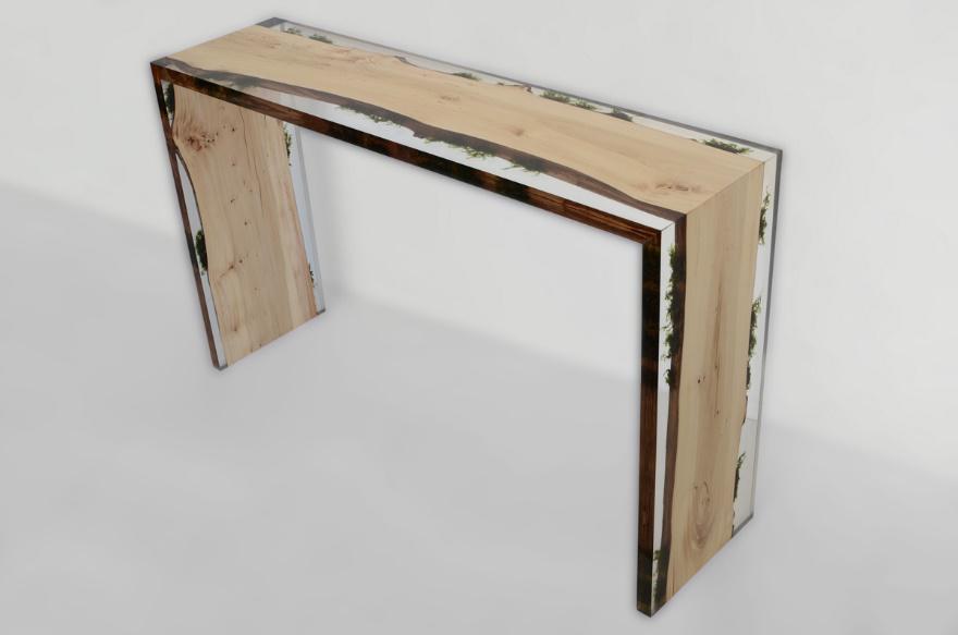 Natural materials furniture design