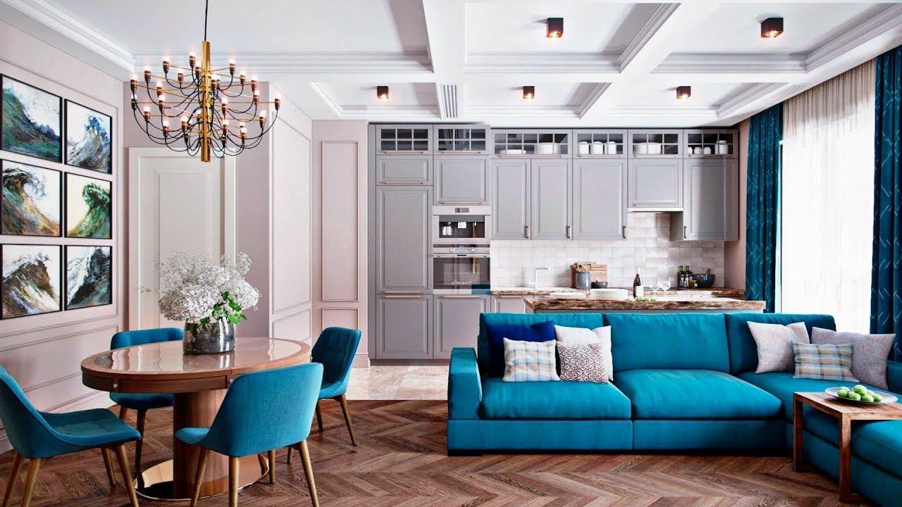 latest kitchen interior design pictures living room